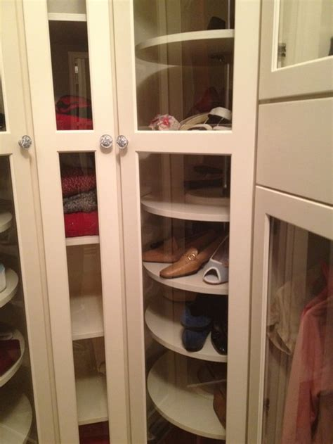 what company designed the lazy susan style shelves for