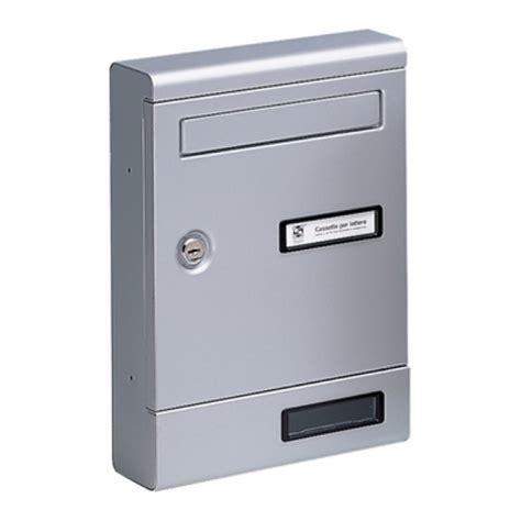 Cassetta Lettere by Cassetta Lettere Alluminio Silmec 2 Colori From Category