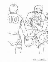 Rugby Coloring Pages Printable Printcolorcraft Craft Credit Larger sketch template