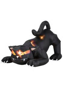 blow up cat w moving head outdoor animal decorations