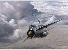 English Electric Lightning Aviation Painting Art Print