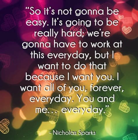 nicholas sparks love quotes   books movies