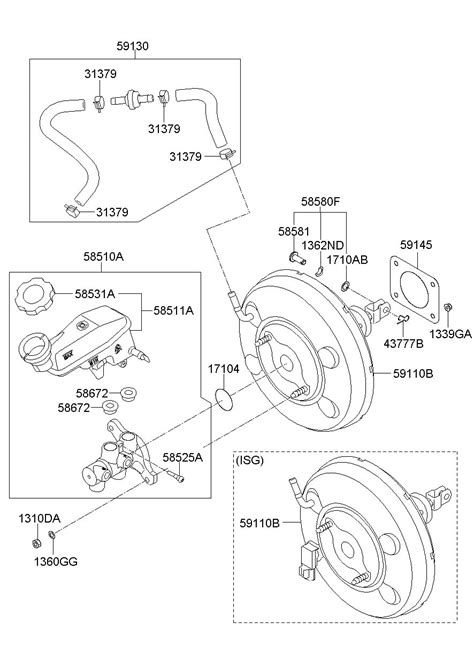Hyundai Booster Brake Power Assembly