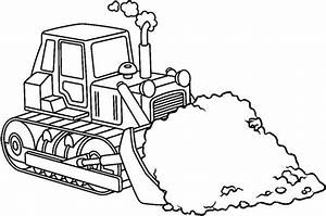 Construction coloring pages bulldozer - ColoringStar