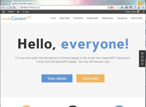 install  wordpress quickstart including content