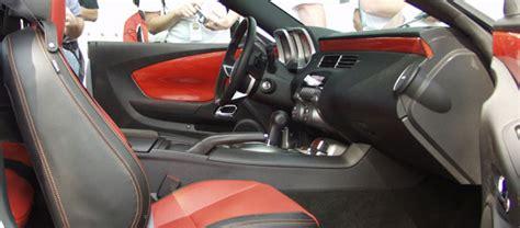 2010 camaro ss interior 2010 camaro ss interior revealed at enthusiast event