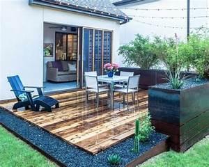Bildergebnis fur moderne terrassen deko garten for Moderne terrassen