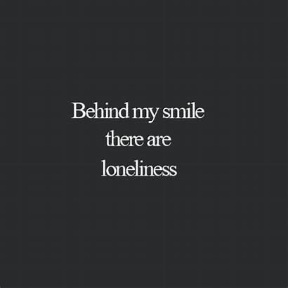 Smile Behind Quotes Pain Dark Sad Quote