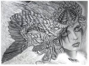 Aztec God Quetzalcoatl Drawing