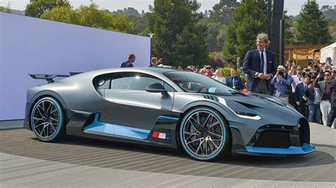 Bugatti Divo Whips Pebble Beach With Hot Looks, Handling