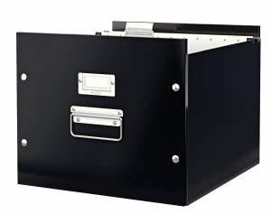 Boite Archive Metal : leitz bo te de rangement dossiers suspendus a4 noir click store 60460095 ~ Teatrodelosmanantiales.com Idées de Décoration