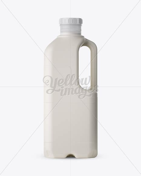 Bring the most popular material for your designs juice, milk, water — looks like we haven't missed anything, and you can complete your collection of plastic let the party begin! Download Frosted Plastic Milk Jug Mockup PSD