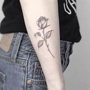 Rose En Tatouage : tatouage rose c t ces tatouages de rose qui ne faneront jamais elle ~ Farleysfitness.com Idées de Décoration