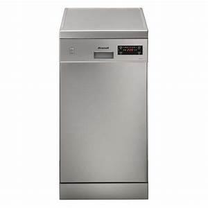 Lave Vaisselle 45 Cm Noir : brandt dfs1009x lave vaisselle 45 cm achat vente lave ~ Melissatoandfro.com Idées de Décoration