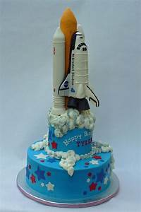 Space Shuttle Cake - Pics about space
