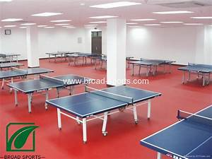 Super Durable Vinly Table Tennis Court Sport Flooring with 4.5mm thickness - BRD02 - Broad ...  Table Tennis Sports