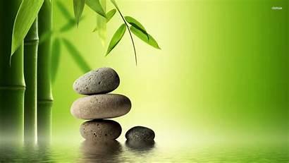Zen Bamboo Stone Desktop Stones Background Backgrounds