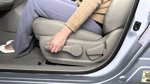 2015 Nissan Sentra - Seat Adjustments