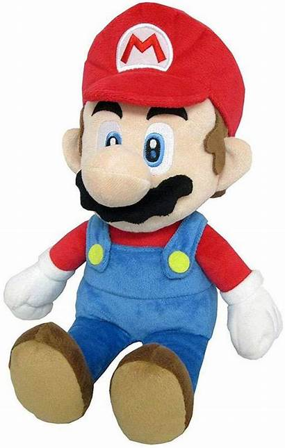 Mario Plush Super Star Inch Buddy
