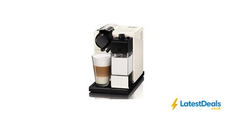 Always at the best prices in the uk. Nespresso EN550.W Lattissima Touch Automatic Coffee Machine, White, £119 at Amazon UK ...