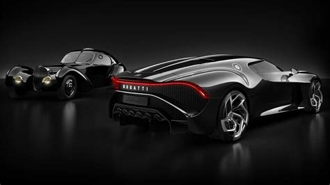 bugatti la voiture noire el auto nuevo mas caro de la