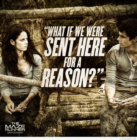 The Quotes The Maze Runner Quotes