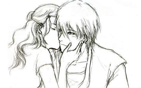 anime couple draw cute couple sketch anime couple sketchingryuzaku on