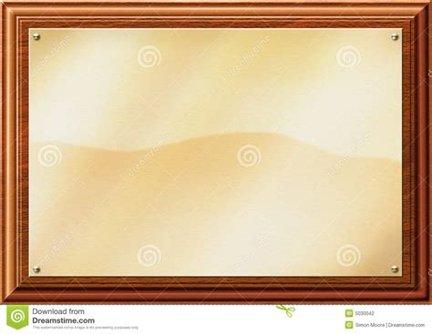 Brick Red Curtains by Brass Plaque Illustration Stock Photography Image 5030042