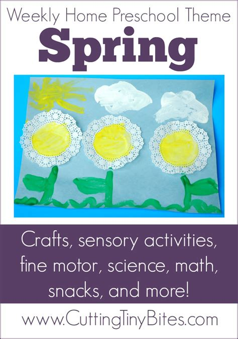 theme weekly home preschool what can we do with 119 | SpringThemeNew
