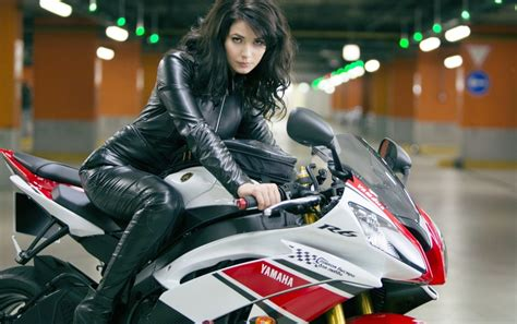 Yamaha Girl Stock Photos