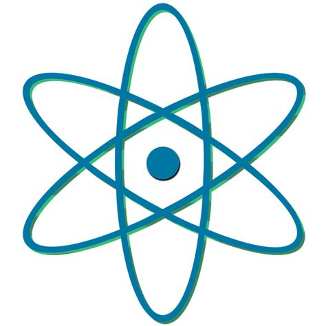 Atom Clipart Atomic Symbol Clipart Clipground
