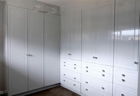 white alpine finish bedroom cupboards cupboardline