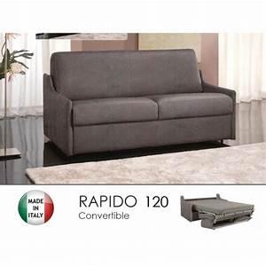 canape lit 2 3 places luna convertible rapido 120cm With tapis enfant avec canapé convertible 2 places 120 cm