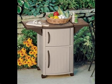 Suncast Patio Storage And Prep Station Bmps6400 by Suncast Dcp2000 Outdoor Prep Station For Outdoor Decor