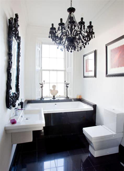 modern black  white baroque interior design ideas