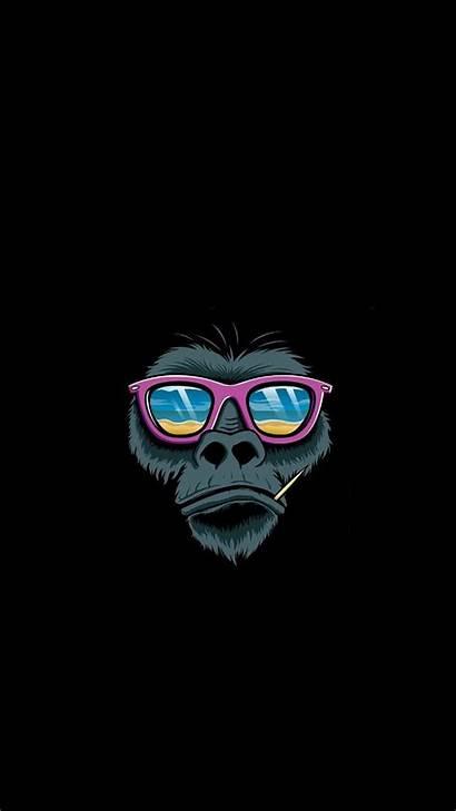 Monkey Iphone Wallpapers Ipad Business Illustration Pop