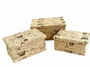 Aufbewahrungsboxen Pappe Mit Deckel : dreams4home 3x aufbewahrungs box mit deckel bedruckt beige kiste karton pappe 4250949996711 ebay ~ Bigdaddyawards.com Haus und Dekorationen
