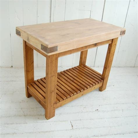 reclaimed timber butchers block  eastburn country