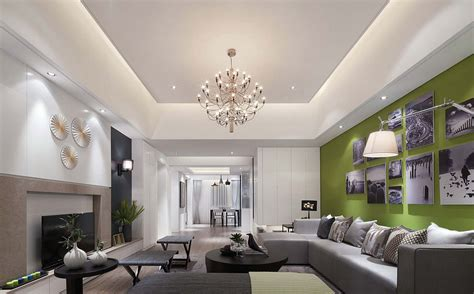 False Ceilings In Rectangular Drawing Room Small Cottage Kitchens Houzz Contemporary Long Galley Kitchen Wood Yellow Cart Table Cheap Makeovers