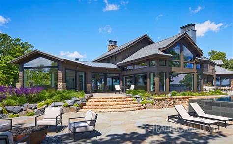 Lake Home Modern Elegance by Lake Home With Modern Elegance Traditional Home