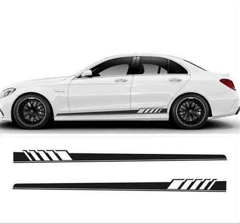82 size stripe decals graphics racing car side vinyl sticker in car stickers