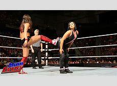The Bella Twins & Natalya vs AJ Lee, Tamina & Aksana WWE