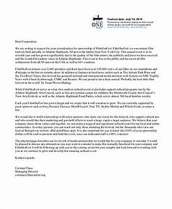 14 sponsorship letter template for Letter to request sponsorship for an event
