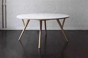 Tisch design rund for Designer tisch rund