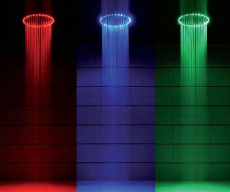 Led Shower by Led Shower Lights Up Your Bath Like A Disco