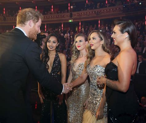 Little Mix | Photos of Prince Harry With Celebrity Friends ...