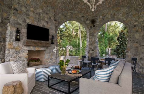 covered patios  fireplaces interesting ideas  home