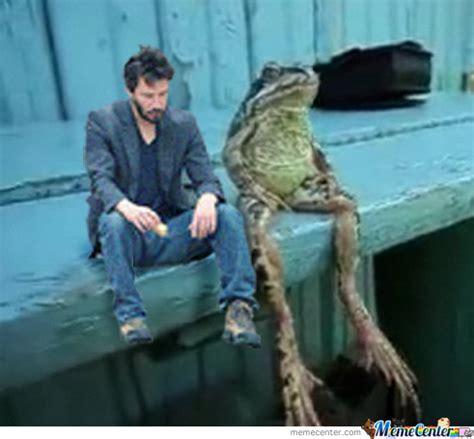 Sad Keanu Meme - sad keanu has a friend by tristaph meme center