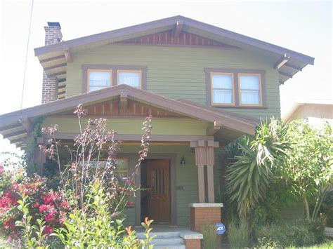 Porches can be simple entryway covers, full or partial, sheltered and even screened or glass enclosed. 1917 Craftsman Bungalow in Los Angeles, California ...