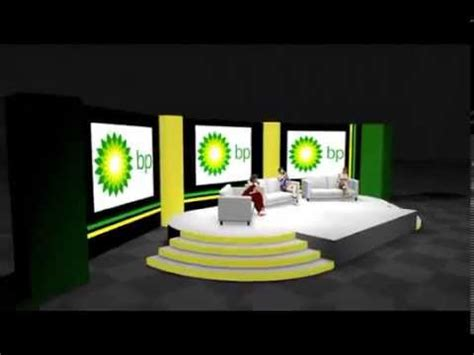 animated conference stage design youtube